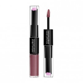 LOreal Paris Infaillible 24HR 2 Step Lipstick 209 Violet Parfait