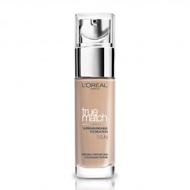 LOreal Paris True Match Super-Blendable Foundation 1.5.N Linen 30ml
