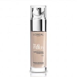 LOreal Paris True Match Super-Blendable Foundation 1.N Ivory 30ml