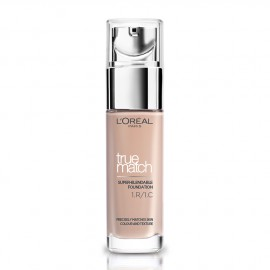LOreal Paris True Match Super-Blendable Foundation 1.R/1.C Rose Ivory 30ml