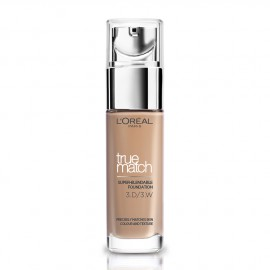 LOreal Paris True Match Super-Blendable Foundation 3.D/3.W Golden Beige 30ml