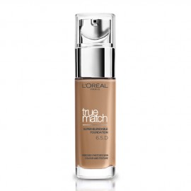 LOreal Paris True Match Super-Blendable Foundation 6.5.D/6.5.W Golden Toffee 30ml