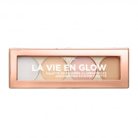 LOreal Paris La Vie En Glow Highlighting Powder Palette 01 Warm Glow 5g