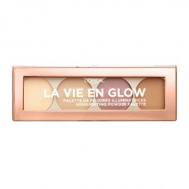 LOreal Paris La Vie En Glow Highlighting Powder Palette 02 Cool Glow 5g