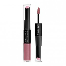LOreal Paris Infaillible 24HR 2 Step Lipstick 125 Born to Blush