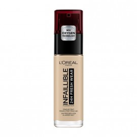 LOreal Paris Infaillible 24hr Freshwear Liquid Foundation 130 True Beige 30ml
