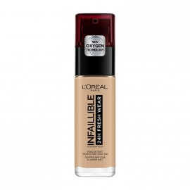 LOreal Paris Infaillible 24hr Freshwear Liquid Foundation 200 Golden Sand 30ml