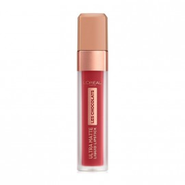 LOreal Paris Les Chocolates Ultra Matte Liquid Lipstick 864 Tasty Ruby 7.6ml