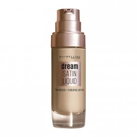Maybelline Dream Satin Liquid Foundation + Hydrating Serum SPF13 10 Ivory 30ml