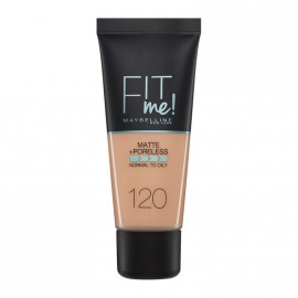 Maybelline Fit Me Matte & Poreless Liquid Foundation For Normal To Oily Skin 120 Classic Ivory 30ml