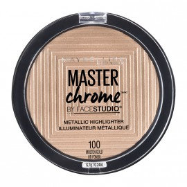 Maybelline Master Chrome Metallic Highlighter Powder 100 Molten Gold 9g