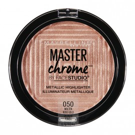 Maybelline Master Chrome Metallic Highlighter Powder 050 Molten Rose Gold 9g