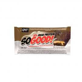 QNT SoGood Bar With Milk Chocolate Flavour and Nuts 60gr