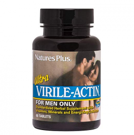 Natures Plus Ultra Virile Actin for Men Only 60 tabs