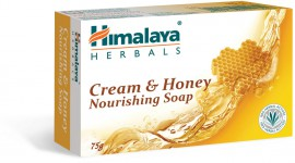 Himalaya Cream & Honey Nourishing Soap 75gr