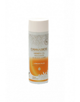 CANNABIOS MASSAGE X-OIL LEMON 100ml