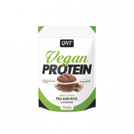 QNT Vegan Protein Single Dose Chocolade Muffin 20gr