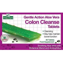 OPTIMA Aloe Vera Colon Cleanse 60tabs