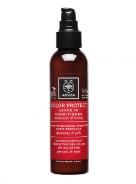 Apivita Color Protect Leave in Contitioner με Ηλίανθο & Μέλι 150ml