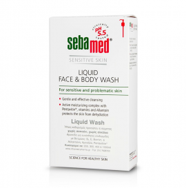 Sebamed Liquid Face & Body Wash 300ml