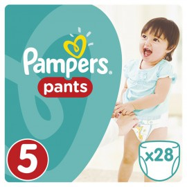 PAMPERS Pants No.5 (12-18Kg) 28 Πάνες