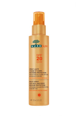 NUXE SUN MILKY SPRAY ΠΡΟΣΩΠΟ-ΣΩΜΑ SPF20 150ML