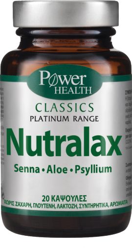 POWER HEALTH NUTRALAX 20 CAPS