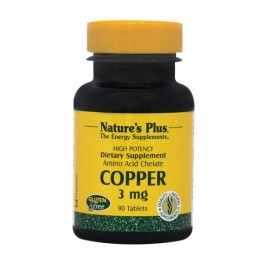 Natures Plus COPPER 3 mg 90 tabs