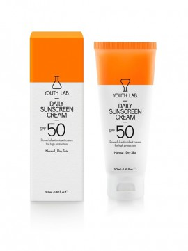 Youth Lab Daily Sunscreen Cream Spf50 for Normal-Dry Skin 50ml