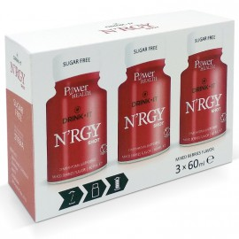 Power Health Drink It NRGY Shot 3x60ml