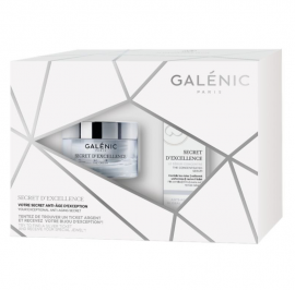 Galenic Set Secret dExcellence La Creme 50ml + Secret dExcellence Serum Concent Αντιγηραντικός Ορός προσώπου 10ml