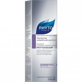 Phyto Phytosquam Shampoo Purifiant 200ml
