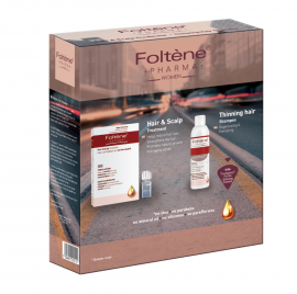 Foltene Women Shampoo Thinning Hair 200ml + Hair & Scalp Treatment 100ml