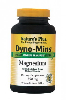 Natures Plus Dyno-Mins Magnesium 250mg 90tabs