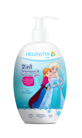 Helenvita Kids Frozen 2 in 1 Shampoo & Shower Gel 500ml