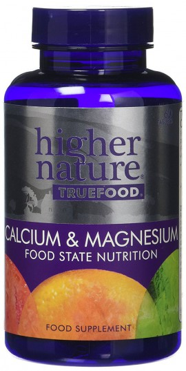 Higher Nature True Food Calcium and Magnesium 60tabs