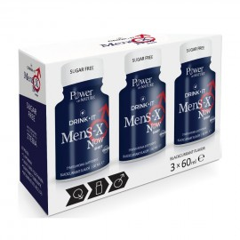 Power Health Drink It Mens-X Now Shot 3x60ml