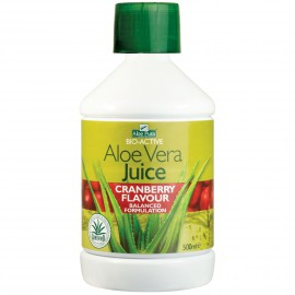 Optima Aloe Vera Juice with Cranberry 500ml