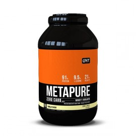 QNT Metapure Zero Carb Whey Isolate Protein Powder Milk Vanilla 2kg