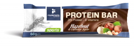 My Elements Protein Bar Hazelnut & chocolate flavor 60gr