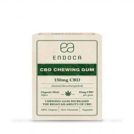 Endoca Chewing Gum 150mg CBD 10pieces