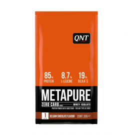 QNT Metapure Zero Carb Whey Isolate Protein Belgian Chocolate 30gr