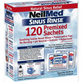 NEILMED SINUS RINSE 120 PREMIXED SACHETS FOR ADULTS