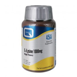Quest L-Lysine 1000mg 45tabs