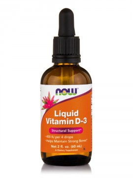 Now Foods Liquid Vitamin D-3 5000IU 60ml