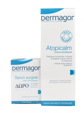 Inpa DERMAGOR ATOPICALM 250ml+ΔΩΡΟ DERMAGOR SAVON SURGRAS 150gr