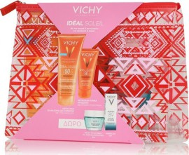Vichy Sun Velvet Set - Ideal Soleil Lait-Gel SPF50 200ml & Ideal Soleil Velvet SPF50+ 50ml + Δώρο Quenching Mineral Mask 15ml & Mineral 89 5ml