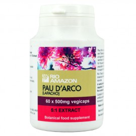 Rio Amazon Pau D Arco 500mg 60 tabs