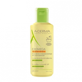 Aderma Exomega Control Emollient Shower Oil Anti Scratching 200ml