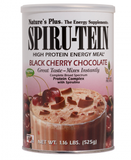 Natures Plus SPIRUTEIN BLACK CHERRY-CHOCO 510GR